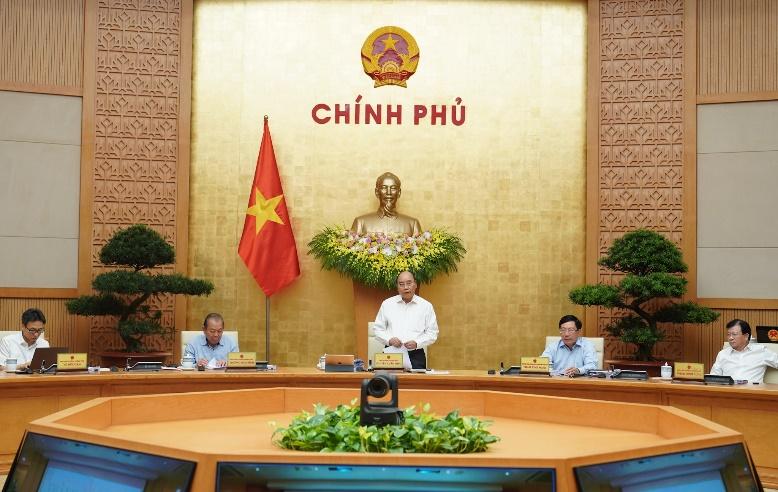 Chính phủ họp phiên thường kỳ tháng 7/2020