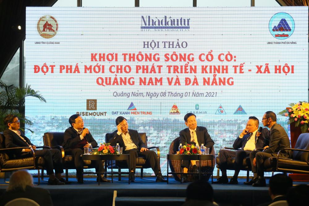 'Khơi thông sông Cổ Cò là khát vọng rất lớn của nhân dân và mong mỏi của các nhà đầu tư'