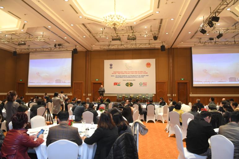 Nhiều cơ hội hợp tác đầu tư ngành dược phẩm giữa Việt Nam - Ấn Độ